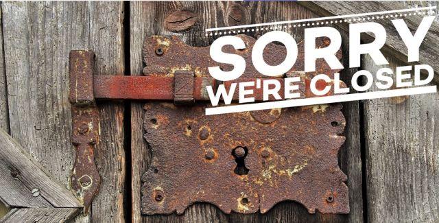 Sorry-geschlossen